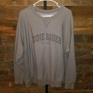 Eddie Bauer XXL Grey Sweatshirt